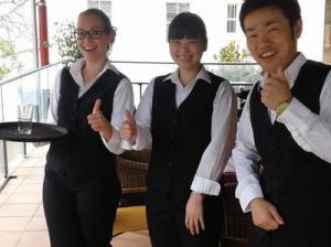 ホテル&レストランマネージメントコース受講中の留学生に聞きました!