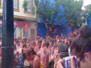 2016年絶対に行きたい お祭り男も参加したスペイン・トマト祭り