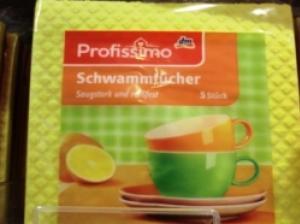日本で人気の水を吸う布巾を買う! ドイツ式キッチンの便利グッズ