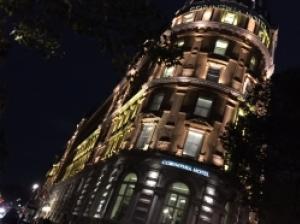 優雅な5つ星ホテル「コリンシア」 お値打ち3コース・ディナーに舌鼓