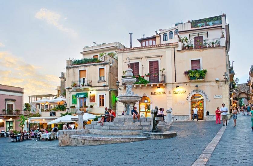 イタリア留学 タオルミーナ
