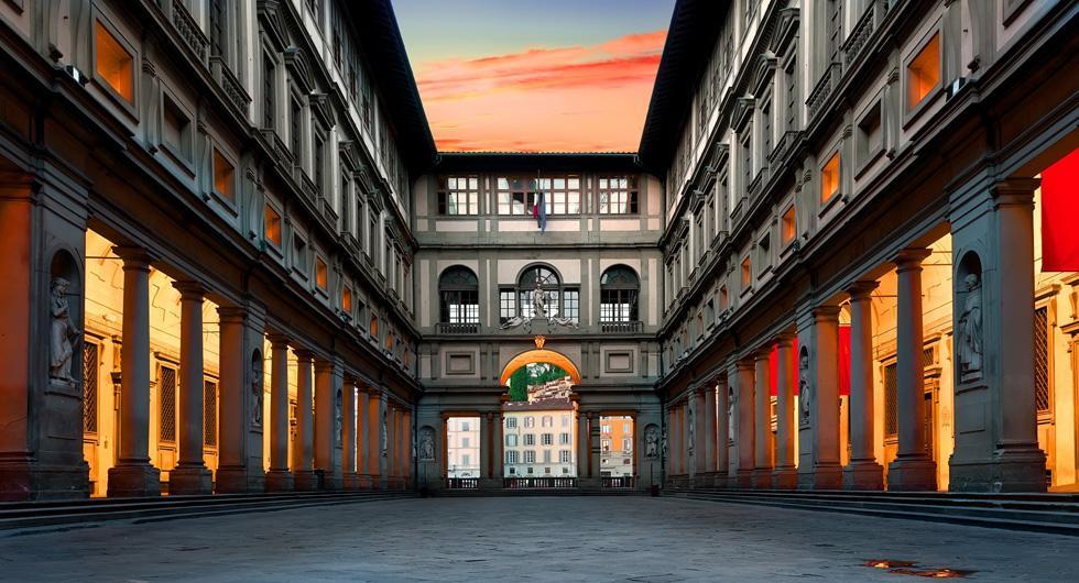 ウッフィツィ美術館(フィレンツェ)