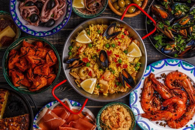 スペイン留学 食事